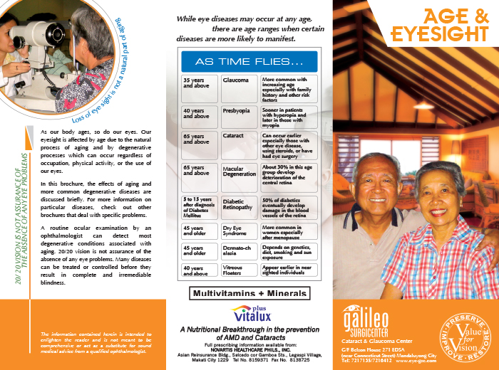 Aging and Eyesight